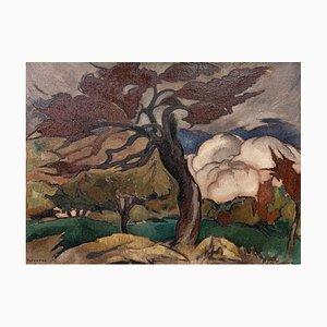 Rodolph Fornerod View Tree, 1923