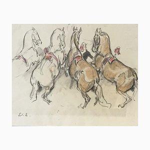 Edouard Elzingre, Préparation à la scène, 1930