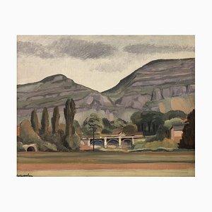 Gabriel Eduard Haberjahn, Paysage, 1923