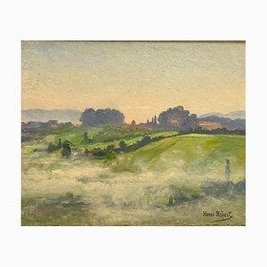Henri Hébert, On the Mists of the Rhone, 1901