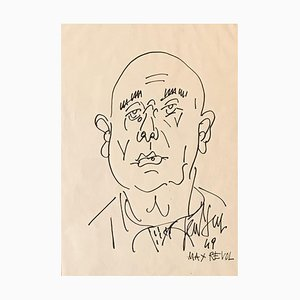 Max Revol Portrait, 1949