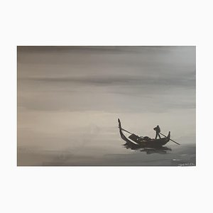Denoël, Loneliness of a Gondolier in the Adriatic, 1970