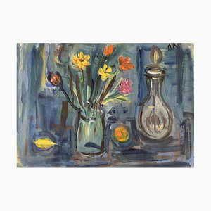 Alexandre Rochat Bouquet and Carafe, 1950