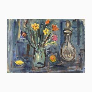 Bouquet e caraffa di Alexandre Rochat, 1950