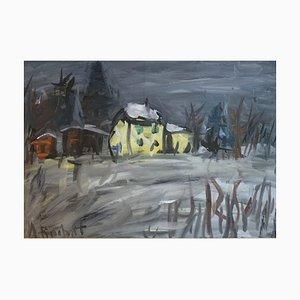 Alexandre Rochat, The Little Yellow House, 1963