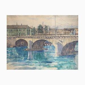 Charles De Ziegler, Le Pont, 1940
