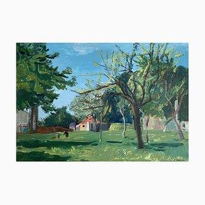 Scène de Vie dans le Jardin, Adrien Holy, 1941
