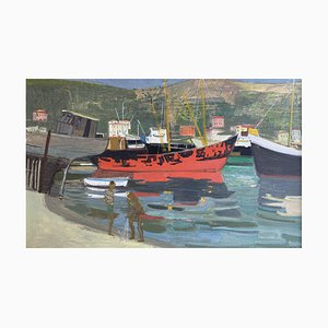 Adrien Holy in Port, 1960
