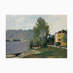 Adrien Holy, L'arbre au Bord du Lac, 1945