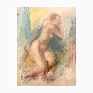 Henri Fehr Naked Sketch, 1930