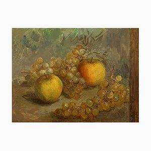 Henri Fehr, manzanas y uvas, 1920