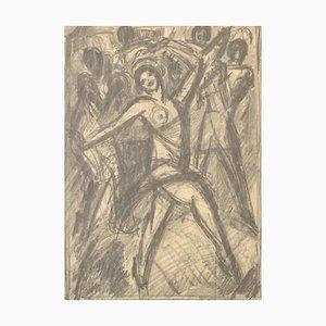 Louis Henri, Salzmann Naked Sketch, 1930