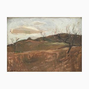 Charles Émile Moïse Hornung, Paysage et colline, 1923