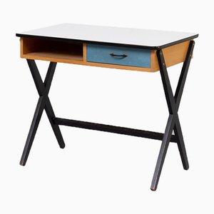 Schreibtisch aus Holz von Coen De Vries für Devo, 1950er