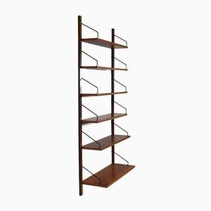 Teak Wall Shelf by Poul Cadovius, 1960s