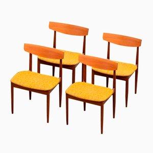 Skandinavische Vintage Stühle von G-Plan, 4er Set