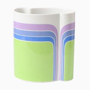 Vintage Porzellan Vase von Thomas, 1970er