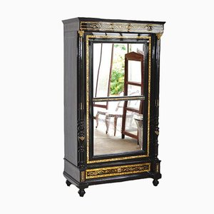 Boulle Technique Bookcase in the Style of Makart