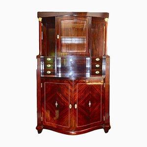 Viennese Art Nouveau Showcase Cabinet
