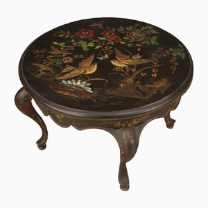 French Lacquered Coffee Table, 20th Century