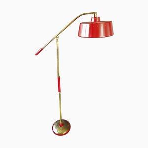 Mid-Century Floor Lamp by Stilnovo for Stilux, Italy, 1950s