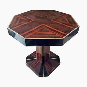 Achteckiger Art Deco Tisch, Frankreich