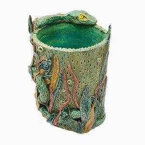 Large Bestiaries Series Serpent Vase by Caroline Pholien, 2019