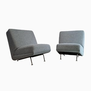 Vintage Lounge Chairs or Sofa Elements by Theo Ruth for Artifort, 1950s, Set of 2