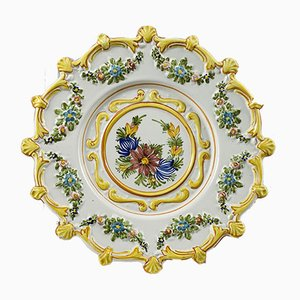 Decorative Ceramic Plate, 1980s