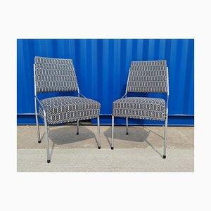 Bauhaus Tubular Chrome Chairs, Czechoslovakia, 1940s, Set of 2