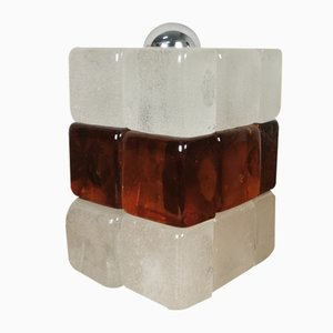 Mid-Century Table Lamp in Murano Glass from Poliarte, 1970s