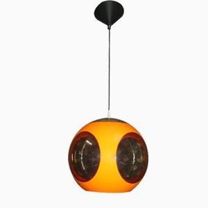 Orange Ball UFO Lampe von Luigi Colani für Massive, 1970er