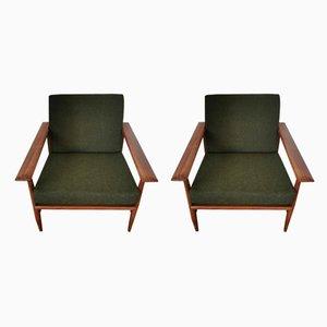 Svanette Sessel von Ingmar Relling für Ekornes, 1960er, 2er Set
