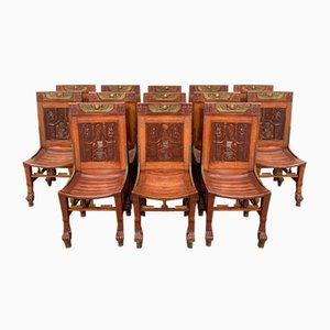 Egyptomania Stühle, 12er Set