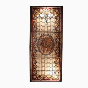 Large Masonic Stained Glass Window