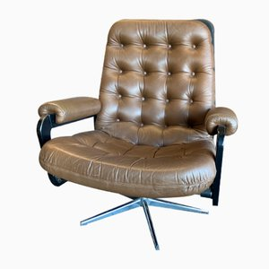 Lounge Chair in the Style of Chesterfield, 1970s