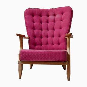 Französischer Mid-Century Sessel von Guillerme Et Chambron