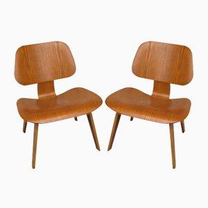 LCW Sessel von Charles & Ray Eames für Evans Sperrholz / Herman Miller, 1940er, 2er Set
