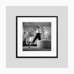 Marilyn Monroe Portrait Session Silver Gelatin Resin Print Framed in Black by Earl Theisen