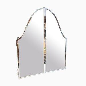 Triptychon Spiegel aus Edelstahl