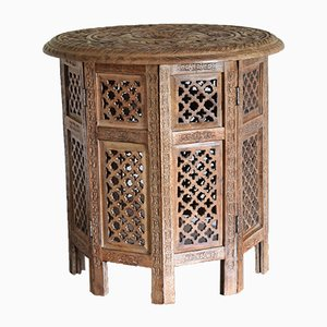 Table d'Appoint Anglo-Indienne