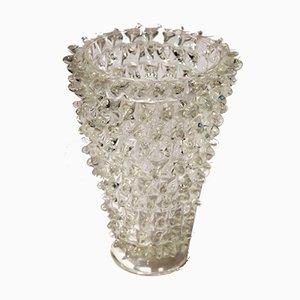 Antique Italian Murano Glass Rostrato Vase by Barovier & Toso, 1940s