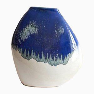 Vintage Italian Ceramic Cladonia Vase by Lena Costantini Toc for Avorin, 1975
