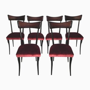 Dining Chairs by Ico Parisi, 1960s, Set of 6