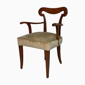 Chaise de Bureau Mid-Century par Ernesto Nelli pour Nesto
