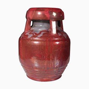 Vase von Karl Hansen Reistrup für Herman A. Kähler
