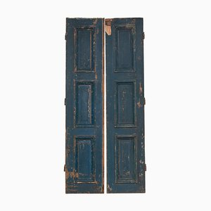 18th-Century Louis XVI Tall Style Doors, Set of 2