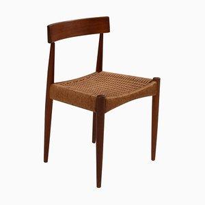 Mid-Century Teak Dining Chair by Arne Hovmand-Olsen for Mogens