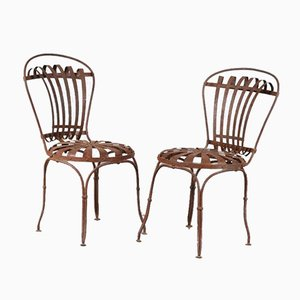 Garden Chairs by Francois Carre, France, 1950s, Set of 2