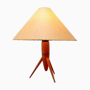 Czech Modernist Tripod Desk Lamp from Uluv, Czechoslovakia